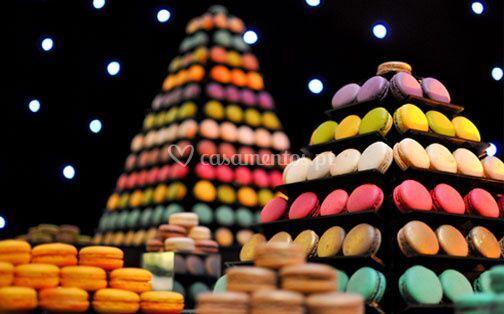 Pirâmides de Macarons