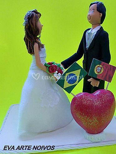 Noiva brasileira ele português
