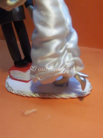 Detalhes do sapatos
