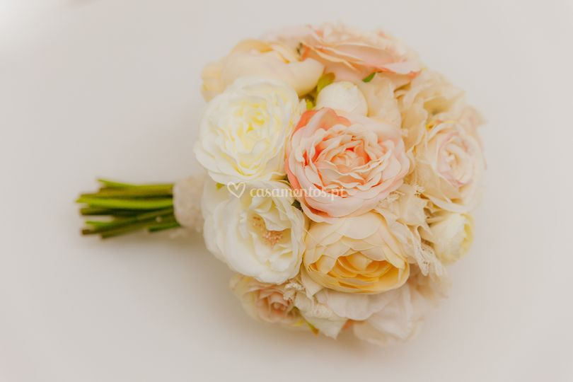 Bouquet flores não naturais