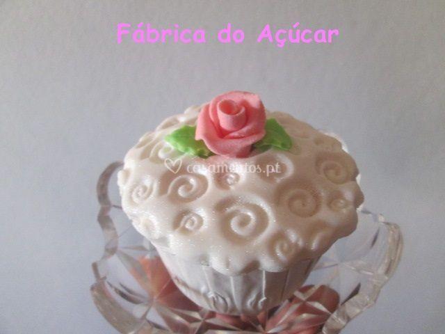 Cup cake de avelãs
