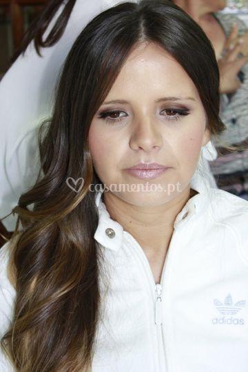 Maquilhagem da irmã da noiva