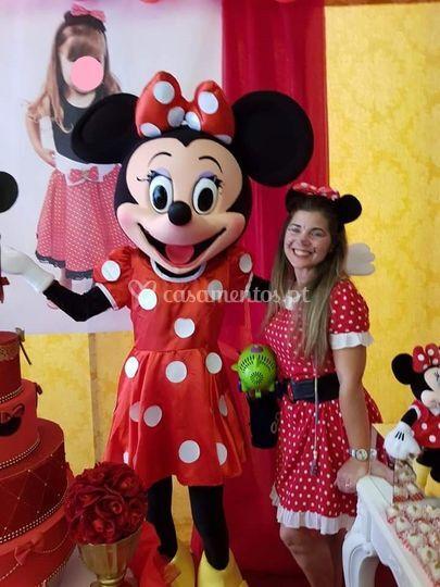 Mascote Minnie