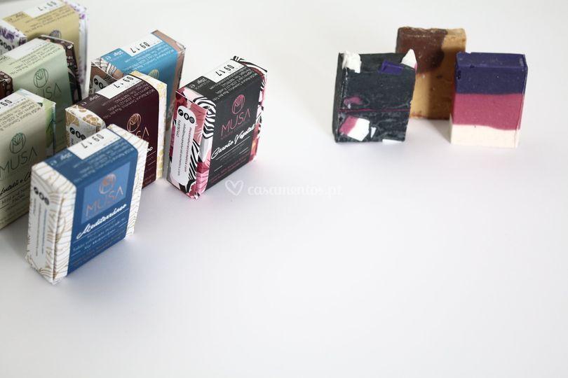 Miniaturas de sabonetes