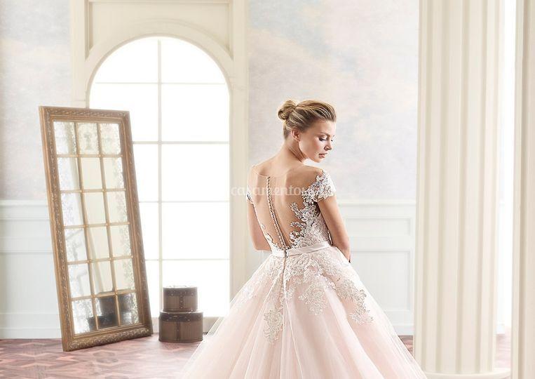 Vestido de noiva rosa Twinkle