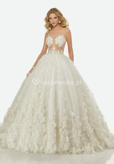Randy fenoli bridal R3424