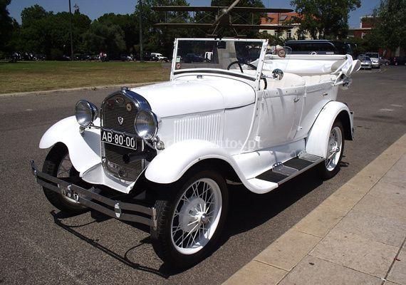 Ford A Phaeton 1928 branco