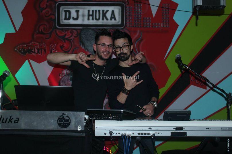 Dj Huka em karaoke