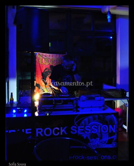A animar uma TRUE ROCK SESSION