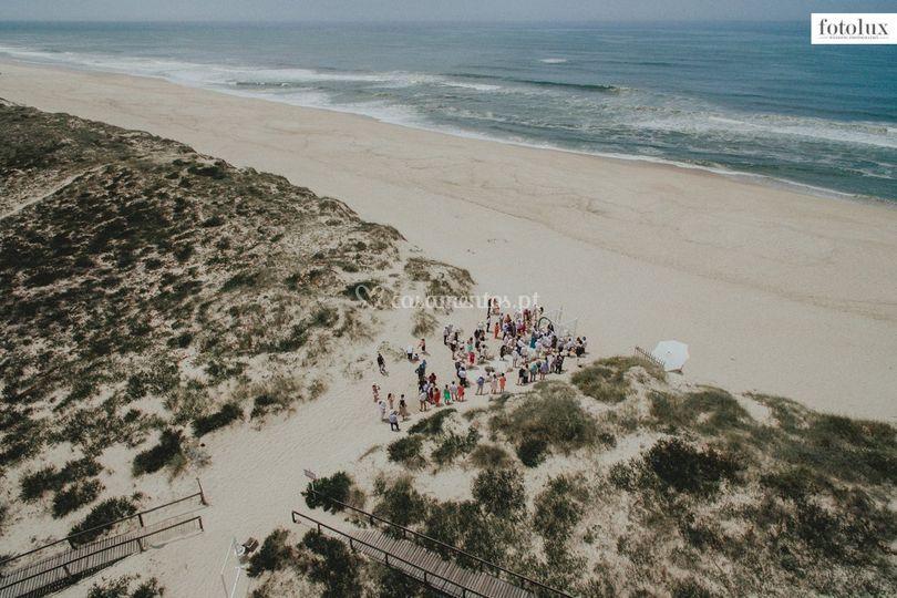 Cerimónias na praia