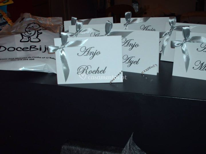 Marcadores de mesa