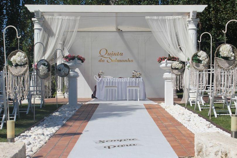 Cerimónia Civil na Quinta