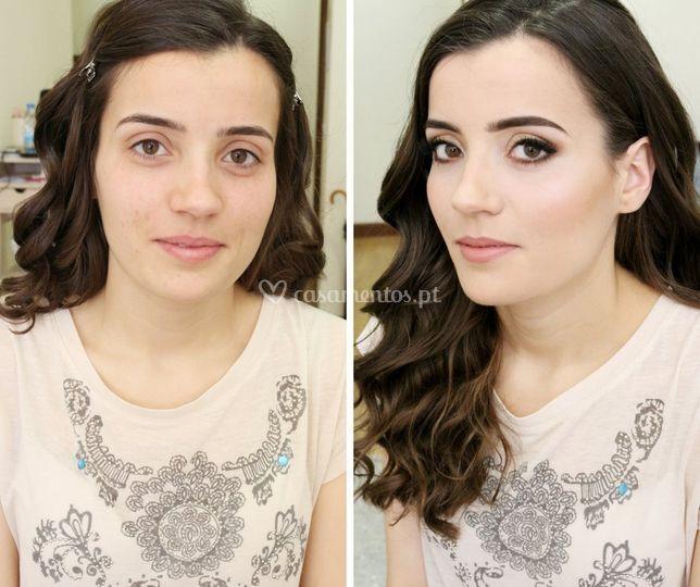 Maquilhagem Catarina
