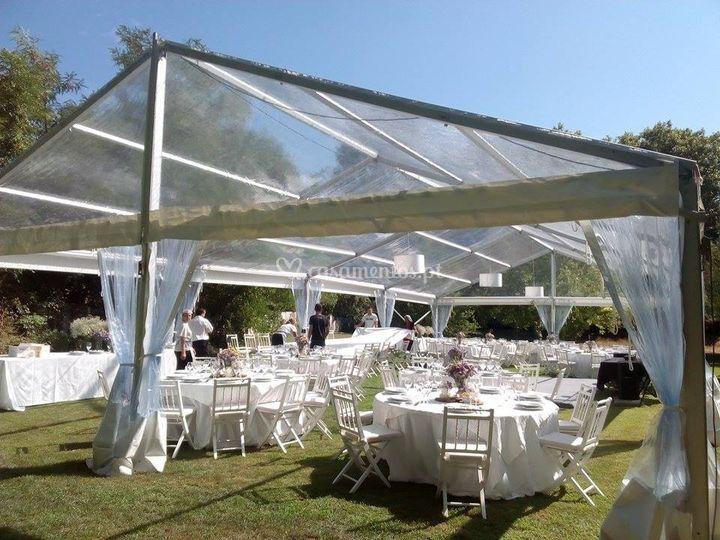 Aluguer de tenda Casamento de Amazing Produções