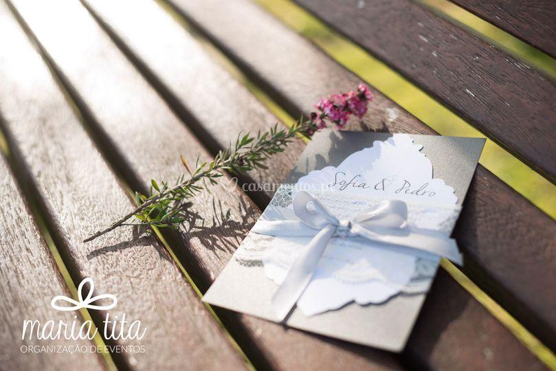 Convite casamento - Princess