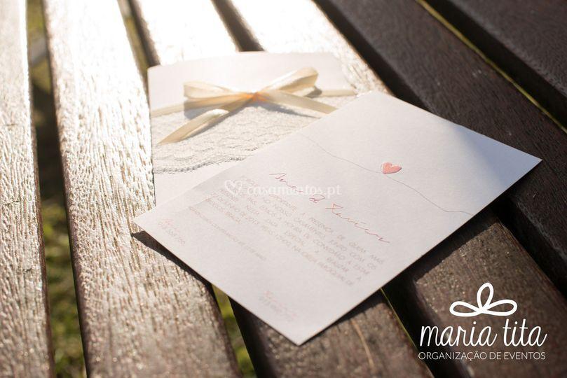 Convite casamento - Romantic
