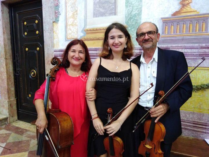 Trio para igreja