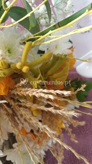 Bouquet amarelo