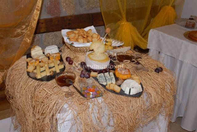 Buffet de queijos