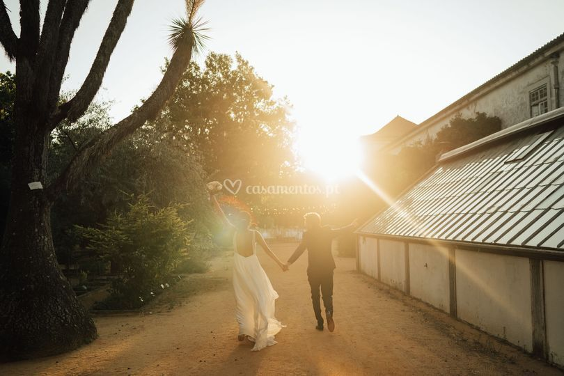 Casamento Estufa Real