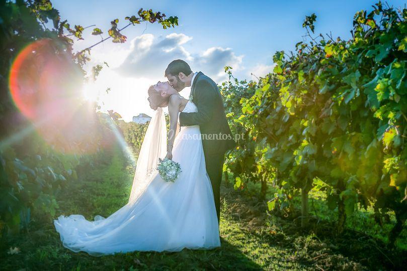 Noivos Sessão Casamento