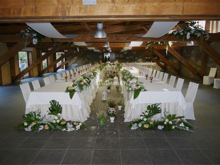 Casamento salão