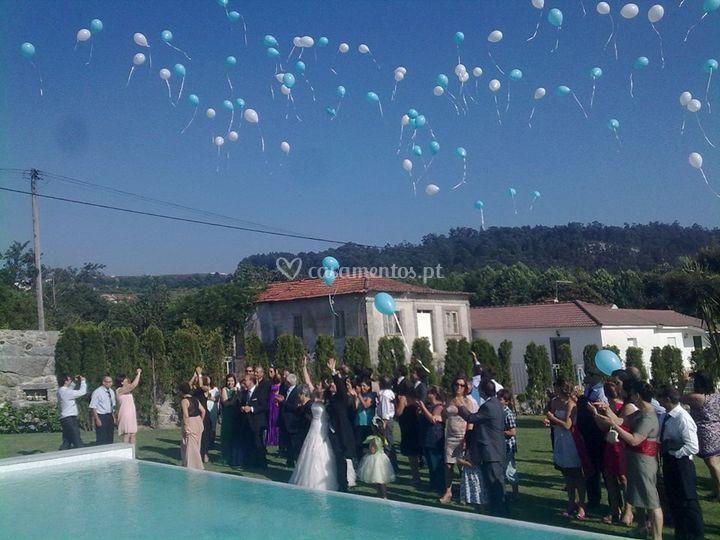 Largada de balões