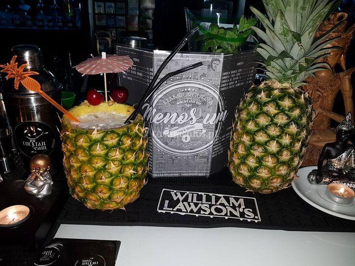 Cocktails de pinacolada