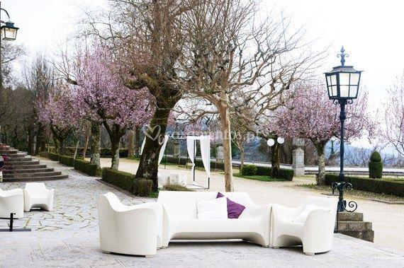 Jardins Colunata primavera