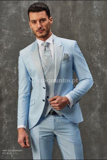 Fato de noivo 460-310 Lt Blue