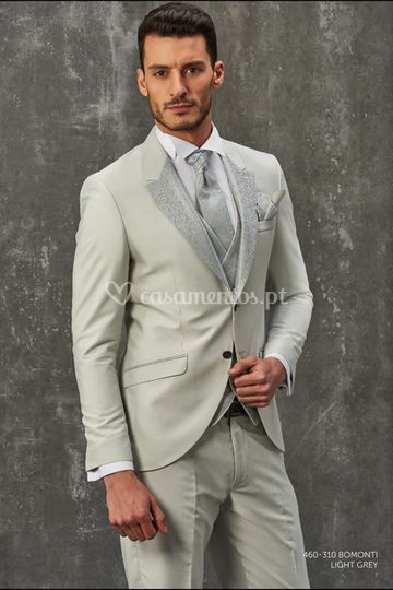 Fato de noivo 460-310 Lt Grey