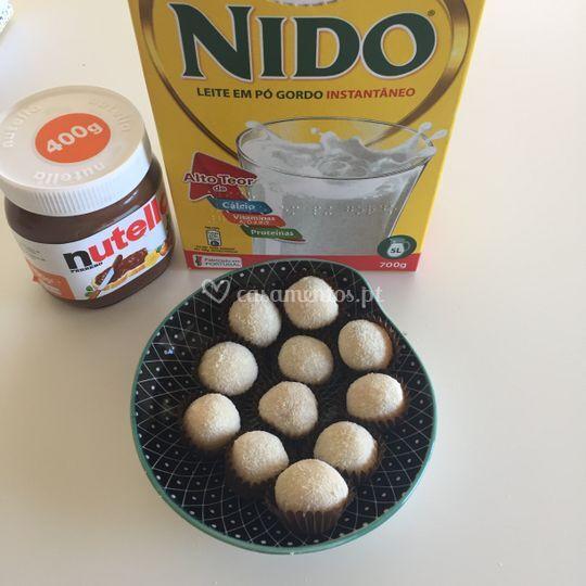 Leite Nido recheado de Nutella