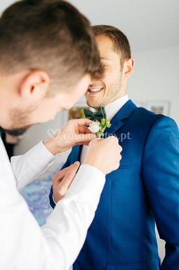 Preparativos noivo