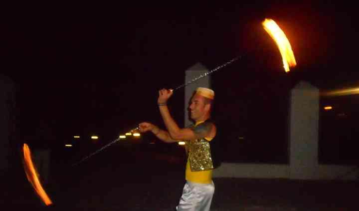 Swings de fogo