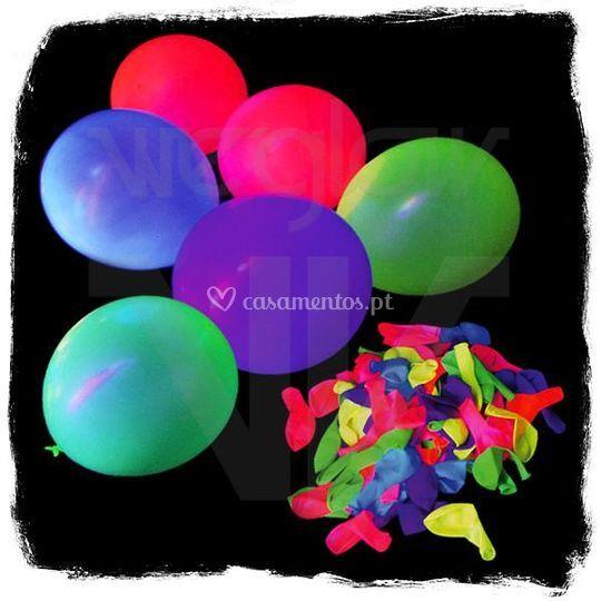 Balões Fluorescentes