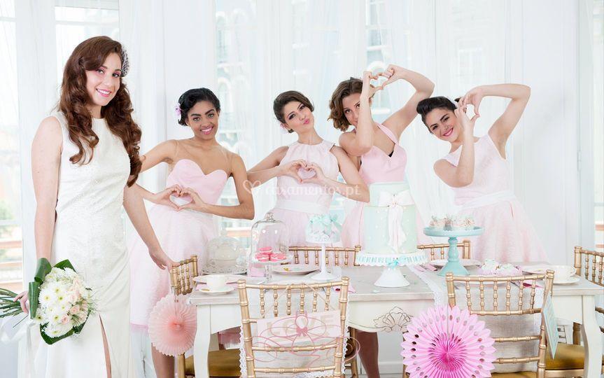 Bridemaids de Atelier Jaqueline Roxo
