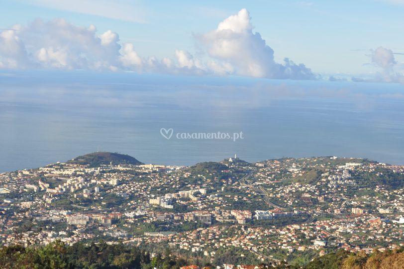 Vista panorâmica - Funchal