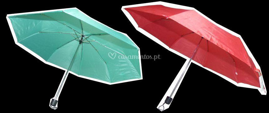 Guarda-chuva noivos+convidados