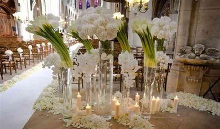 Decoração cerimónia religiosa