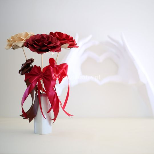 Flores e decoração.