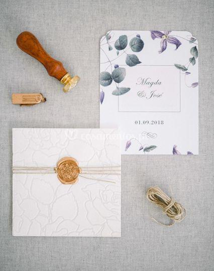 Convites de luxo casamento
