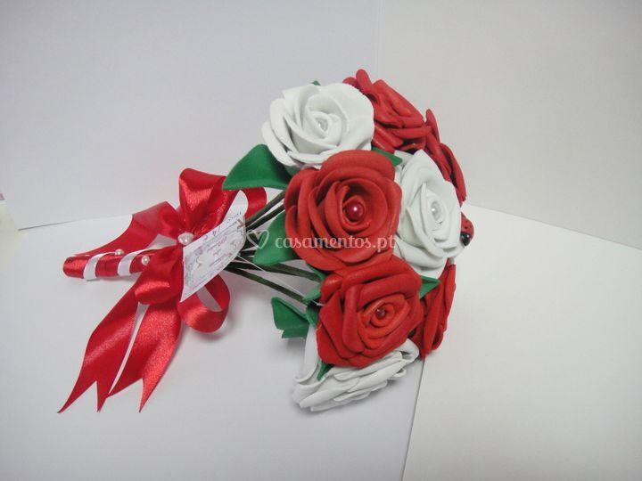 Bouquet noiva em eva