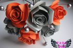 Bouquet rosas de papel