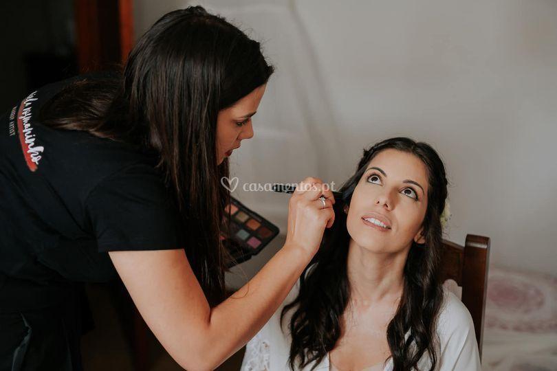 Maquilhagem noiva profissional