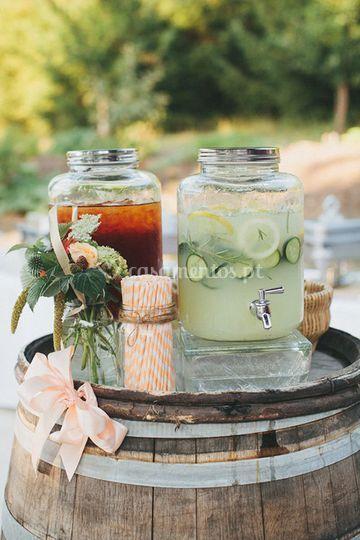 Bebidas frescas sel-service