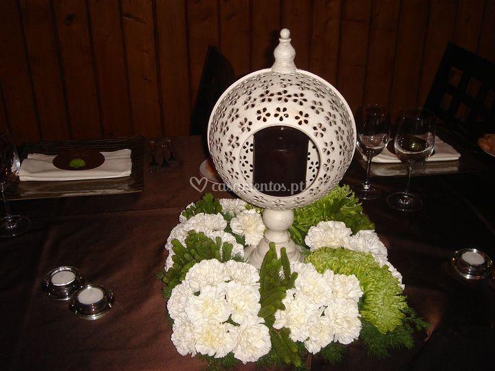 Arranjo mesa noivos