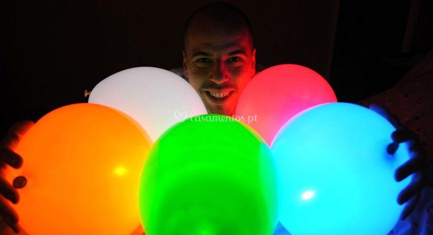 Balão luminoso