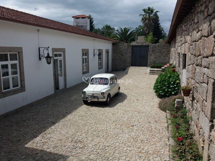 Fiat 600 branco