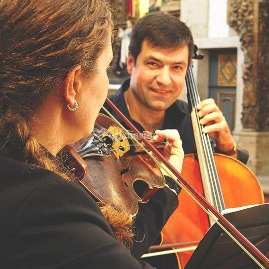 Violino e violoncelo