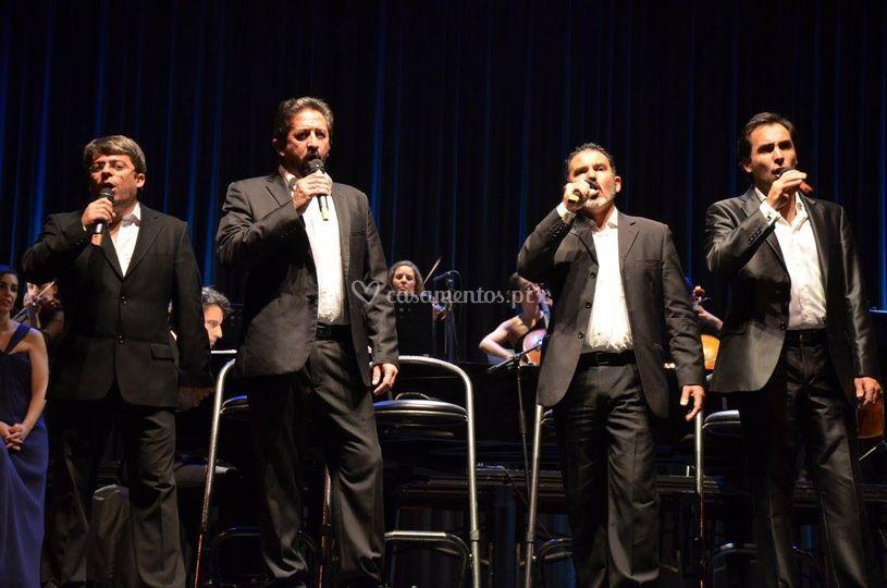 Os nossos 4 tenores